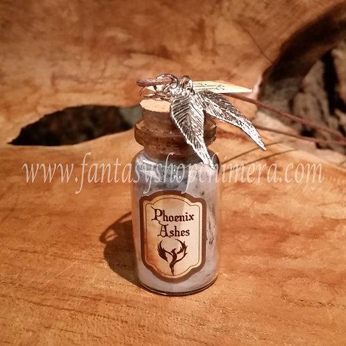 Phoenix ashes pendant