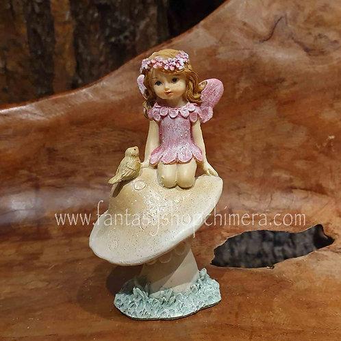mushroom fairy figurine fairytale fantasy hadas elfje paddestoel sprookje fantasie beeldje