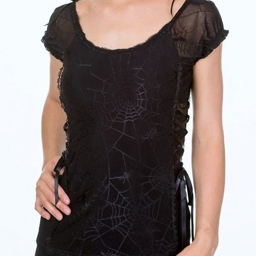 Spider top black