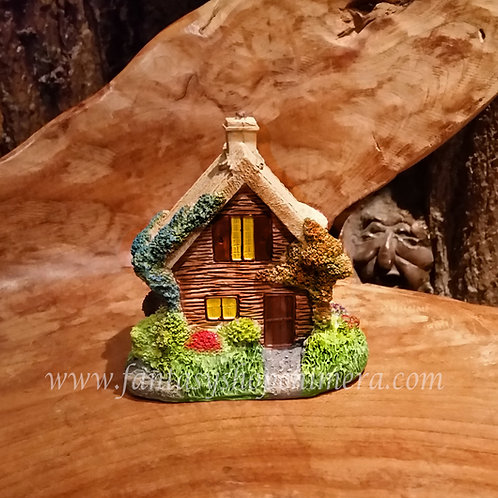 elfenhuisje mini tuindecoratie fairy cottage garden figurine tiny house fantasy shop elfenwinkel amsterdam