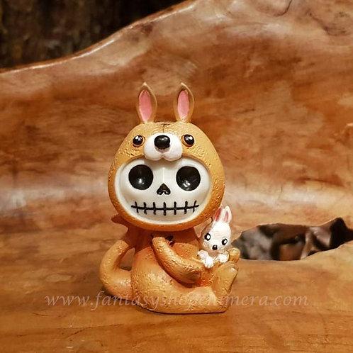 Canga furrybones kangaroo kangoeroe misaki art voodoo doll puppet collectable furry bones fantasy shop chimera amsterdam