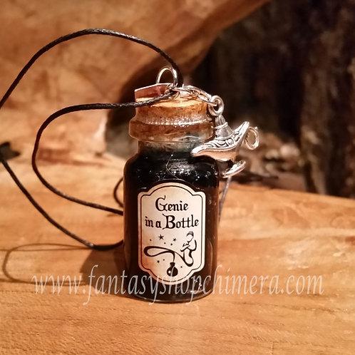 Genie in a bottle pendant