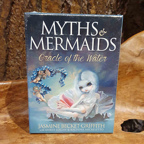 myths and mermaids oracle set deck cards jasmine beckett griffith zeemeerminnen orakelkaarten voorspellen