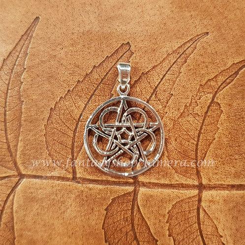Lotus Pentagram pendant