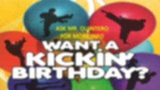 quest martial arts birthday parties