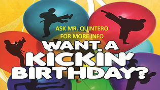 quest martial arts birthday parties
