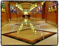 Floors on the Disney Wonder