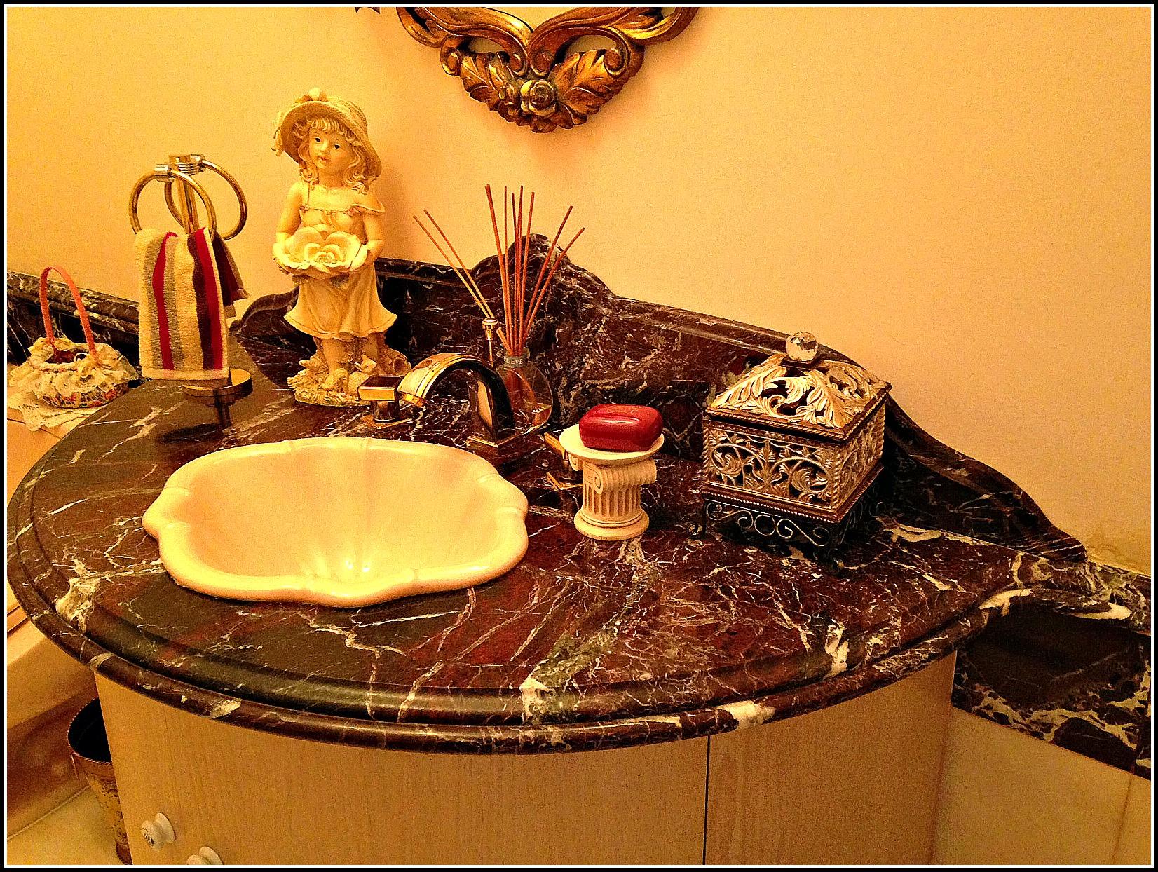 Bathroom granite & marble