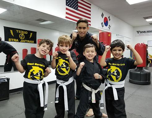 quest martial arts schedule