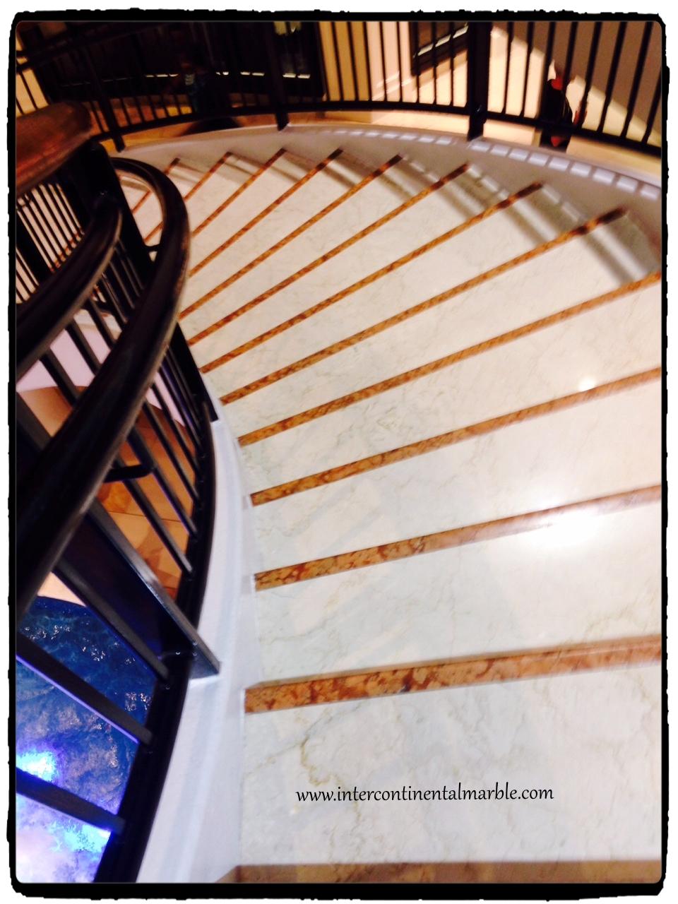 Beautiful stairs at Aventura Mall