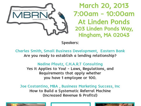 Net Tel One Invites You to the MBRN Free Breakfast Seminar March 20th!