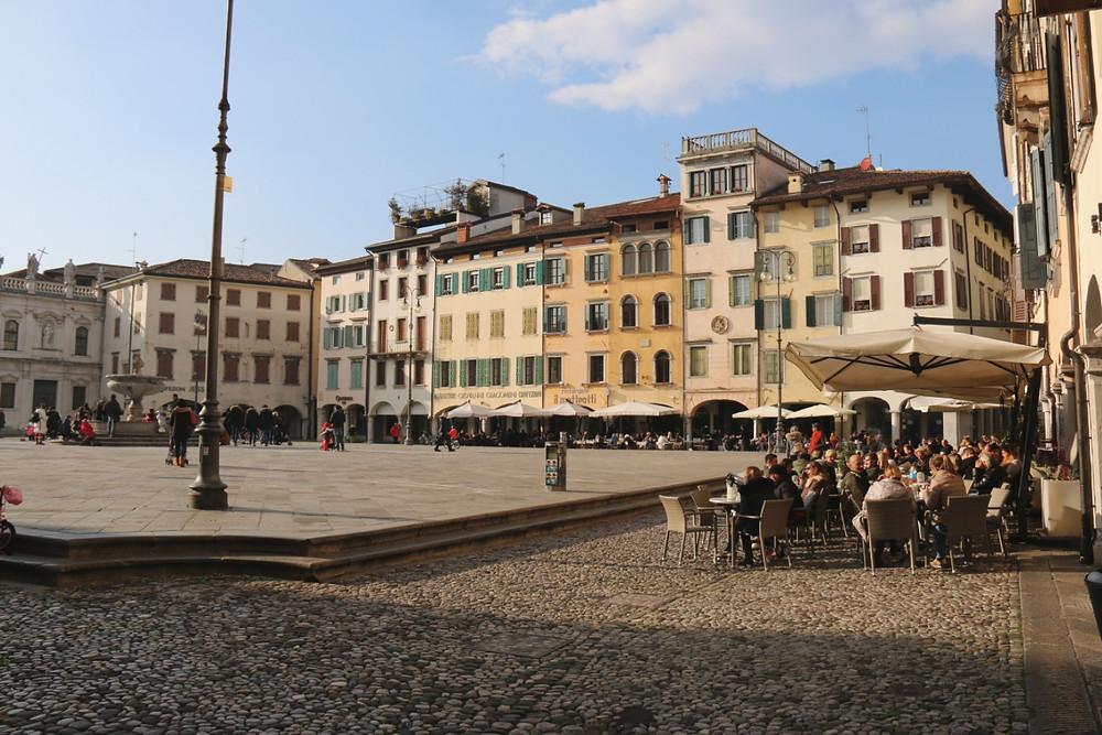 Hauptplatz von Udine