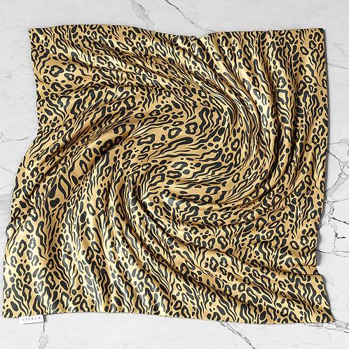 Luxe Leopard Silken Scarf