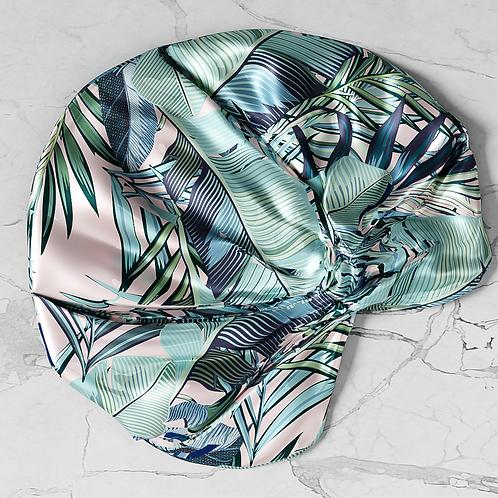 Pretty Palm Silken Turban