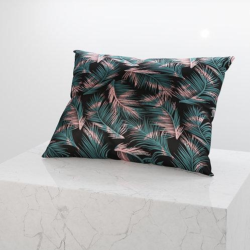 Midnight Palm Silken Pillowcase