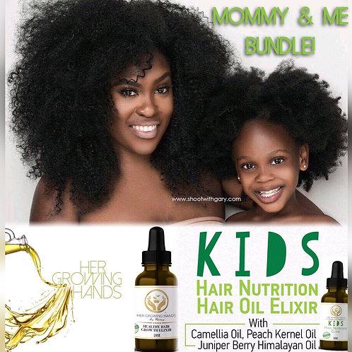 Mommy & Me Healthy Hair Elixir Oil Bundle