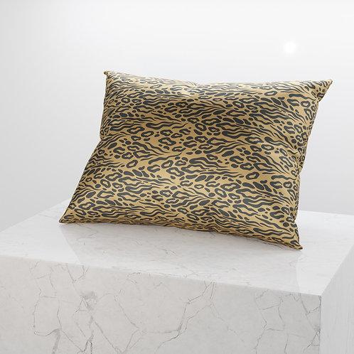 Luxe Leopard Silken Pillow Case