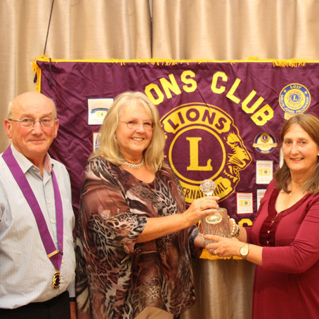 Tonbridge Lions Club Holly Renny Memorial Award