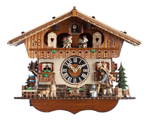 Toy Peddler Chalet Black Forest Imports Cuckoo