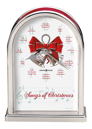 SONGS OF CHRISTMAS TABLETOP CLOCK