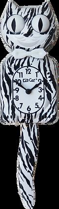 White Tiger Kit-Cat® Klock