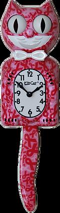 Pink Ribbon Kit-Cat® Klock