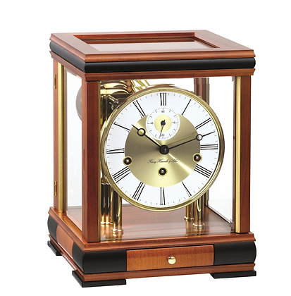 Bergamo Light Cherry Hermle Clock