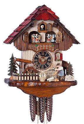 Dancing Wood Chopper Black Forest Imports Cuckoo