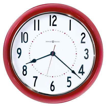CRIMSON HALL WALL CLOCK