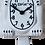 Thumbnail: White Kit-Cat® Klock