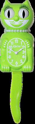 Fun Chartreuse Lady Kit-Cat® Klock