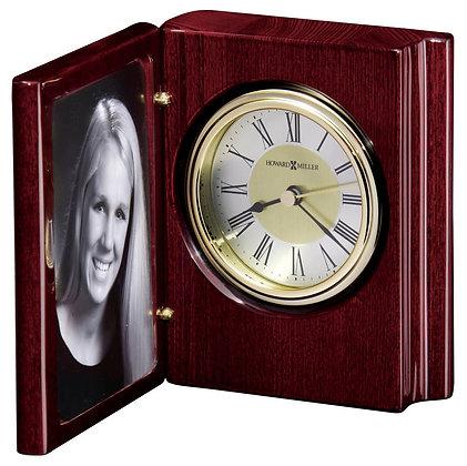 PORTRAIT BOOK TABLETOP CLOCK