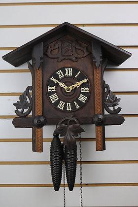 Bavarian/German Antique 1-Day Cuckoo Clock