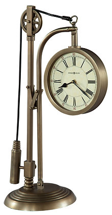 PULLEY TIME MANTEL CLOCK
