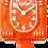 Thumbnail: Pumpkin Delight Lady Kit-Cat® Klock