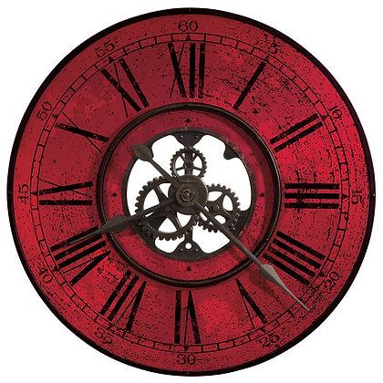 BRASSWORKS II WALL CLOCK