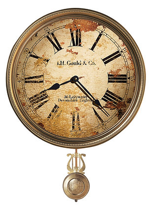 J H GOULD & CO WALL CLOCK