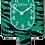 Thumbnail: Green Zebra Kit-Cat® Klock