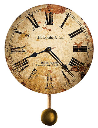 J H GOULD & CO. WALL CLOCK