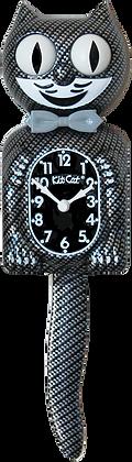 Carbon Silver Kit-Cat® Klock