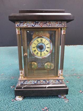 Cloisonné Double Bell Alarm Clock