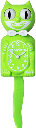 Fun Chartreuse Kit-Cat® Klock
