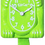 Thumbnail: Fun Chartreuse Kit-Cat® Klock