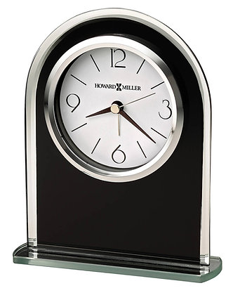 EBONY LUSTER TABLETOP CLOCK