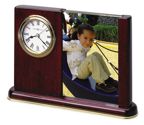 PORTRAIT CADDY TABLETOP CLOCK