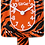 Thumbnail: Bengal Tiger Kit-Cat® Klock