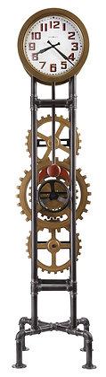 COGWHEEL FLOOR CLOCK