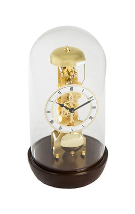 Black/Nickel Bronx Mantel Clock Hermle