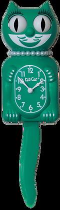 Green Beauty Lady Kit-Cat® Klock