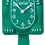 Thumbnail: Green Beauty Lady Kit-Cat® Klock